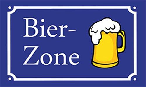 U24 Fahne Flagge Bier-Zone Bierzone Bierfahne 90 x 150 cm