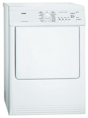 Aeg T65170AV Freestanding Front-Load C White – Tumble Dryer 7 kg (Freestanding, Front Loading, C, White, Buttons, Rotary, Stainless Steel)