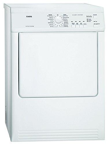 Aeg T65170AV Freestanding Front-Load C White–Tumble Dryer 7kg (Freestanding, Front Loading, C, White, Buttons, Rotary, Stainless Steel)