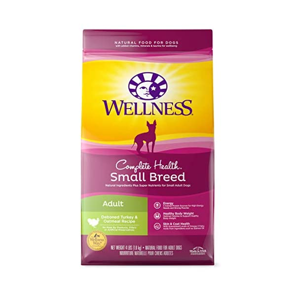 Wellness Complete Health Natural Dry Small Breed Dog Food Small Breed Turkey &...