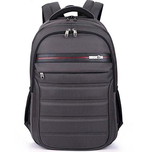 beibao shop Backpack - Grande capacité Entreprise Sac à Dos d'ordinateur Poids léger imperméable Antivol Sac à Dos pour Ordinateur Portable Antichoc Salle Informatique, Gray