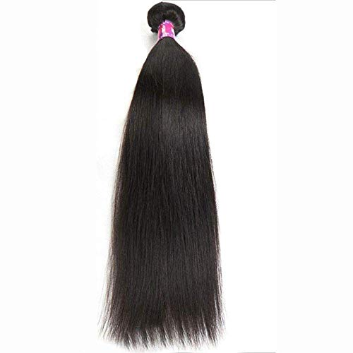 Hairpieces Ladies WigBlack Long Straight Heat Can Be Hot Dyed Wig Real Hair Party Wedding 12 12