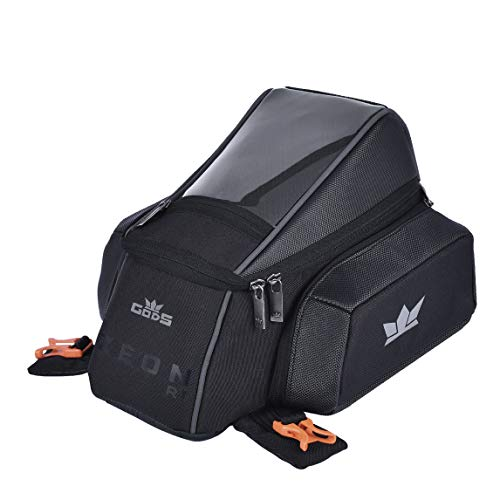 Roadgods Zeon R1 - Motorcycle Tank Bag With Capsule Rain Cover