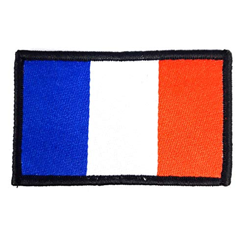 1 x Flag France Flag Patch French Navy France Army Tactics Moral Flag with Velcro