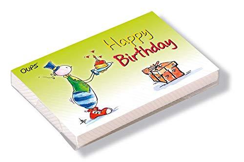 Oups Kärtchenbox: Happy Birthday