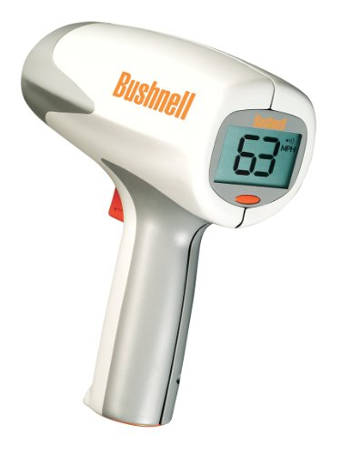 Great Features Of Bushnell 101911 Velocity Speed Gun, 10-110 mph - 90 feet away / 16-177 kph - 27 me...