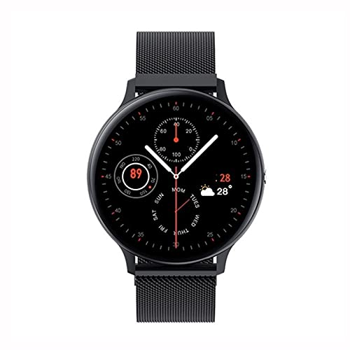 Smart Watch - Pulsera inteligente deportiva de moda Bluetooth puede hacer llamadas Medir la presión arterial y el oxígeno en la sangre Multifunción Pedómetro deportivo Pulsera Redacción de la pantalla