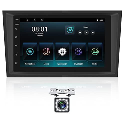 Android 10 Autoradio para Opel Navegacion GPS CAMECHO 7 Pantalla táctil Estereo del Coche WiFi Enlace Espejo Radio FM para Astra Antara Vectra Radio Coche Bluetooth+cámara Trasera