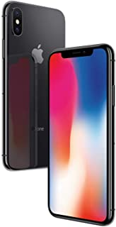 Apple iPhone X Space Grey 256GB SIM-Free Smartphone (Renewed)