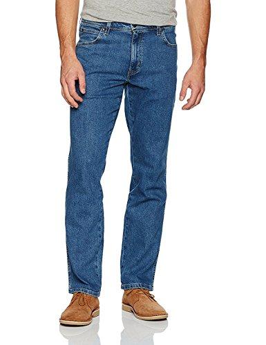 Wrangler Herren Regular Fit-W10I230 Jeans, Blau (Stonewash), W34/L30