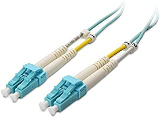 10m OM4 LC-LC 40//100Gb Duplex 50//125 Multimode Fiber Optic Cable Erika Violet