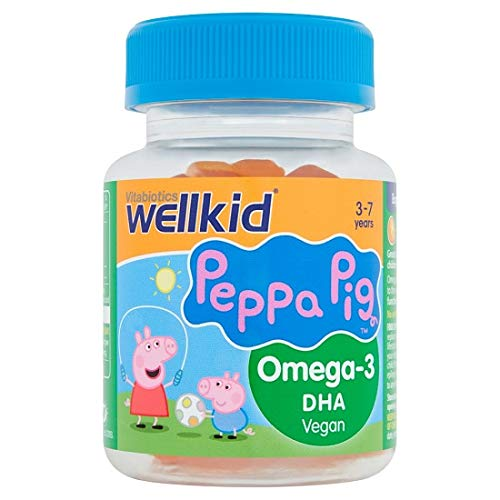 Vitabiotics Peppa Pig Omega-3 DHA vegan Soft Jellies