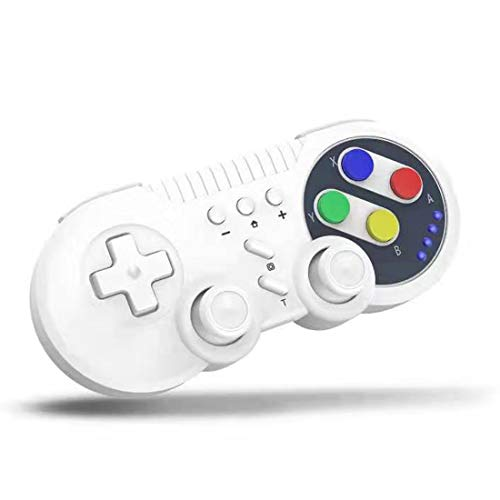 JFUNE Switch Pro Controlador Mando Retro Inalámbrico para Nintendo Switch, PC Windows