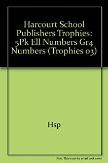 Harcourt School Publishers Trophies: Ell Reader 5-Pack Grade 4 Numbers