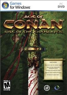 Funcom - Age Of Conan: Rise Of The Godslayer (Rated: M) (Works With: Win Xp,Vista,Win 7 Dvd Software)
