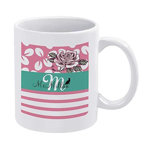 N\A Tazas de café Blanco de 11 oz, Taza de Chocolate de cerámica con Lema Vermeil para Mujer, Jefe, Amigo, Empleado o cónyuge
