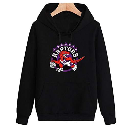 GNZY Sudadera con Capucha NBA Toronto Raptors Capucha De Manga Larga Camisa De Entrenamiento Hoodie para Hombre Mujer Adecuado para Hombres Y Mujeres,B,L