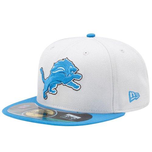 New Era NFL Onfield 59Fifty Flatbill Cap ~ Detroit Lions