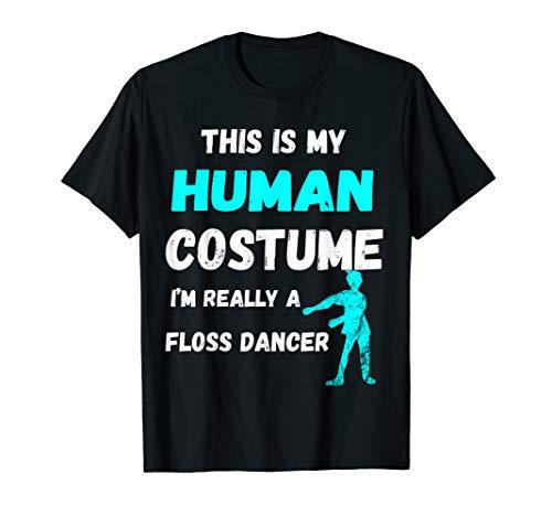 Floss Dance Zahnseide Tanz Tänzer Menschliches Kostüm Shirt