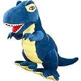 L&WB Grand Tyrannosaurus Poupée Dinosaure en Peluche Jouet Sleeping Oreiller Poupée Enfants Cadeau Grande Taille,Blue,160Cm