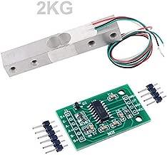 Aihasd Cella di carico Digitale Sensore di Peso 5KG Scala di Cucina Elettronica Portatile HX711 Sensori di pesatura Modulo Ad per Arduino