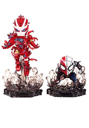 Marvel Beast Kingdom Toys Comics Mini Egg Attack Figure 2-Pack Maximum Venom Special Color SDCC 202