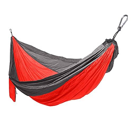 Hamaca Al Aire Libre - Seda Spinning Nylon Paño para Paracaídas Individual Doble Al Aire Libre Luz De Ocio Viajes Camping Hamg Mock Swing (Color : #8-320X200CM)