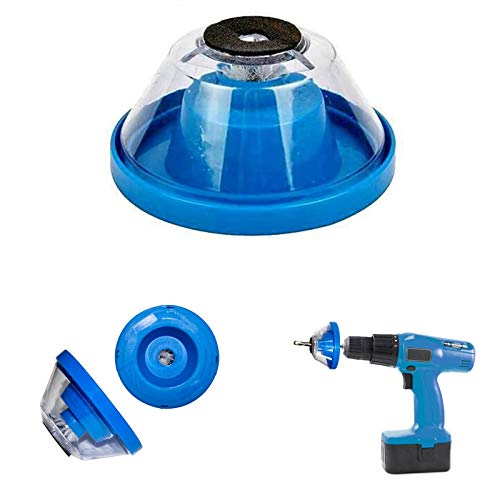 Dust Extractor, Must-have Accessory Drill Dust Collector for Electric Hammer and Drill, Fit Universal 1-10mm Drill Bits, Light, Portable, Washable.