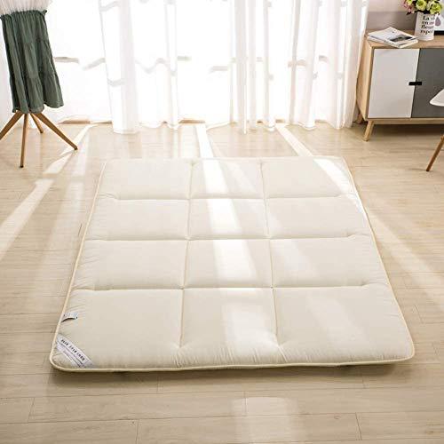 YJF Traditionelle japanische Faltbare Tatami Futon-Matte verdicken Boden schlafen Pad Boden Matratze Roll Up Studentenwohnheim Faule Matratze,C,1.2mx2m