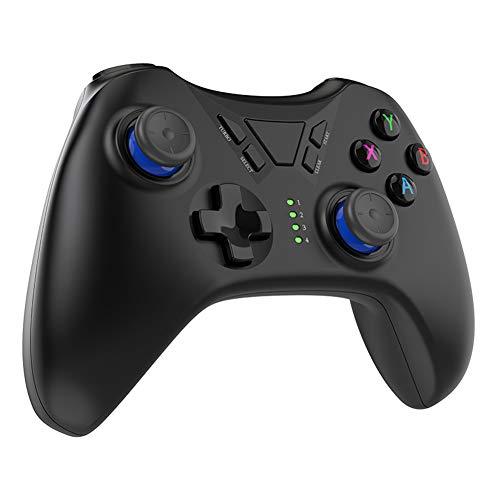 N/W Controlador de Juegos inalámbrico, Hawkoch Controlador de Gamepad inalámbrico para PS3...