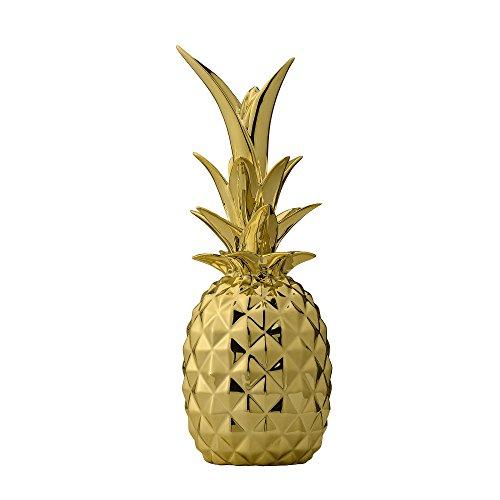 Bloomingville Deko Ananas Gold