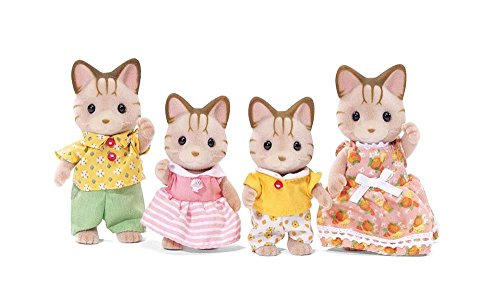 Calico Critters Sandy Katze Familie Puppe