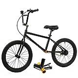 MAGJI Bicicleta sin Pedales Bicicleta de Equilibrio Ligera, Bicicleta de Entrenamiento para Niños/Adultos Grandes, Bicicleta Deportiva con Asiento y Manillar Ajustables, Scooter Bicicleta