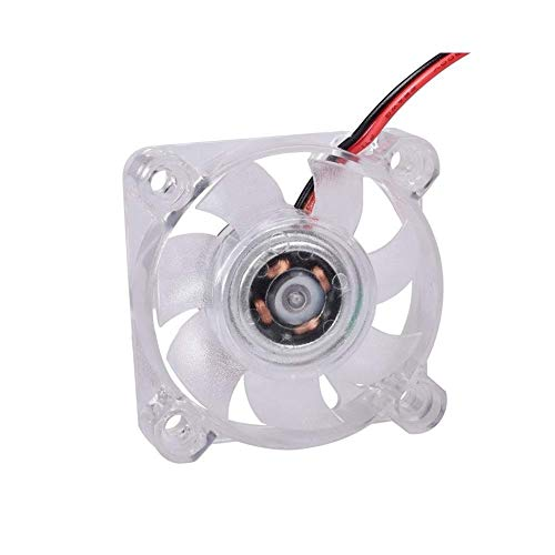Durable Bigtreetech 3010 4010 Ventilador de refrigeración Ventilador LED 5V 12V Ventilador de cojinete hidráulico luminoso silencioso Ventilador silencioso Disipador de calor Piezas de impresora 3D (C