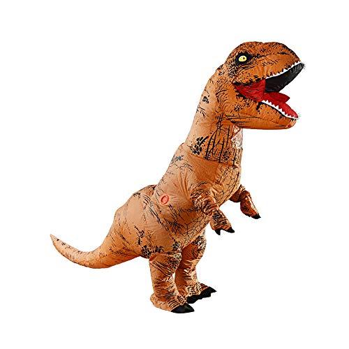 YChoice365 Dinosaurier Kostüm,T-rex Aufblasbare Kostüme,Aufblasbare Kostüme Tyrannosaurus,Rex Dinosaurier Kostüm,Erwachsene Kinder Kostüm Party Dress Up Halloween Phantasie Dinosaurier Anzug