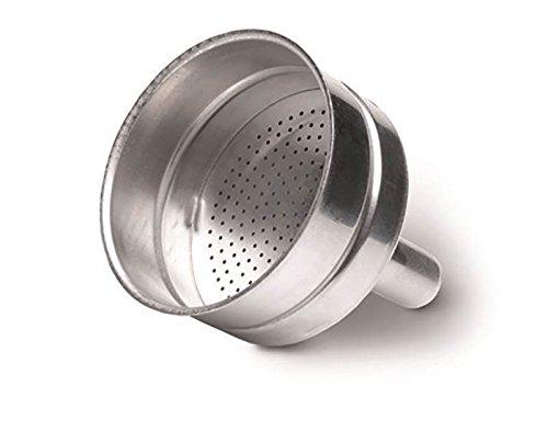 Delonghi Filtre à café en forme d'entonnoir pour cafetière moka Alicia EMK2, EMKP2, EMKE21.