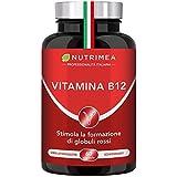 VITAMINA B12 Vegan 1000 mcg   Integratore Vegan   Cianocobalamina Unica Vtamina B12 Al 100% Vegana   60 Capsule Di Origine Vegetale  
