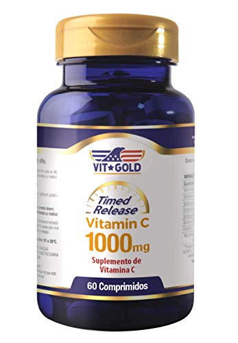 Vitamina C 1.000 mg Timed Release Vitgold 60 comprimidos