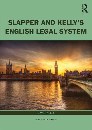 The English Legal System: In memoriam Gary Slapper 1958-2016