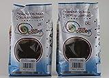 KITS dos bolsas de 800 g. Easy Color pigmento Negro 303. Pigmento para cemento, mortero y hormigón (Negro)