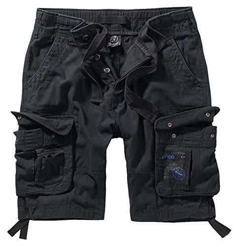 Brandit Pure Vintage Shorts, Schwarz 3XL