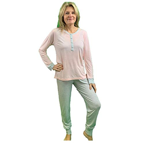 Infiore Pijama para mujer de viscosa art. TET0436 Polvo 44