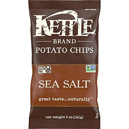 Kettle Brand Potato Chips, Sea Salt Kettle Chips, 5 Oz