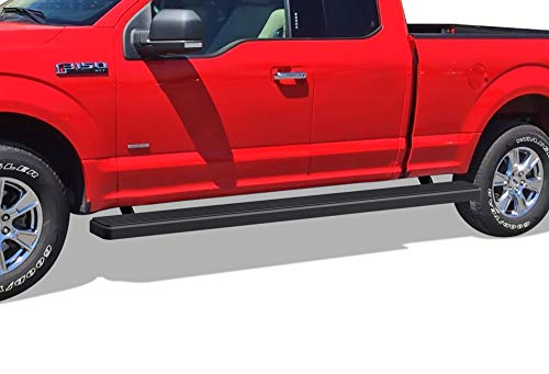 APS Wheel to Wheel iBoard 5 inches Custom Fit 2015-2020 Ford F150 Super Cab 6.5ft Bed Pickup 4-Door & 2017-2020 Ford F-250 F-350 Super Duty (Nerf Bars Side Steps Side Bars)