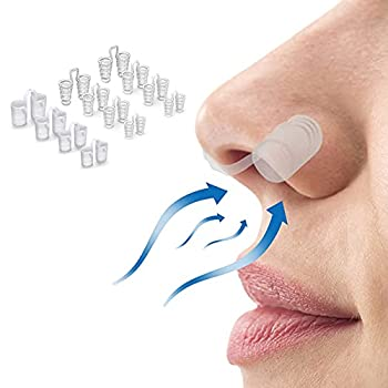 Snoring Solution Anti Snoring Devices 12 Set Snore Stopper Advanced Nose Vents to Ease Breathing for Natural and Comfortable Sleep Instant Fast and Safe.Healthy Sleeping Helper