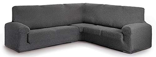 Funda para sofá rinconero Hecho de Tejido Adaptable Spongy tamaño Extra (hasta 600 cm) - Color 16