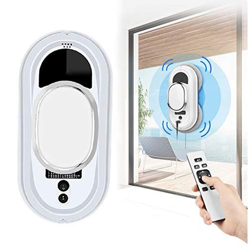 ZPCSAWA Ventana del Robot Limpiador, Automatic Home Window Cleaner, Detecta Los Límites de la Ventana y Limpia Completamente la Superficie, Ideal para Limpiar Los Cristales de tu Casa