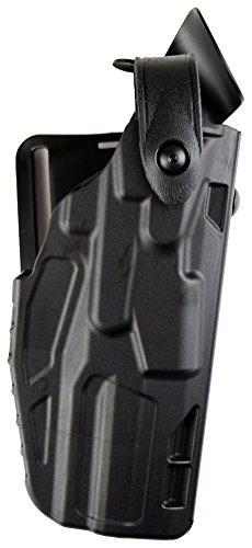 Safariland 7360 ALS/SLS, Level 3 Retention Duty Holster, Mid Ride, Fits: H&K P30L - Black - STX Plain, Right Hand