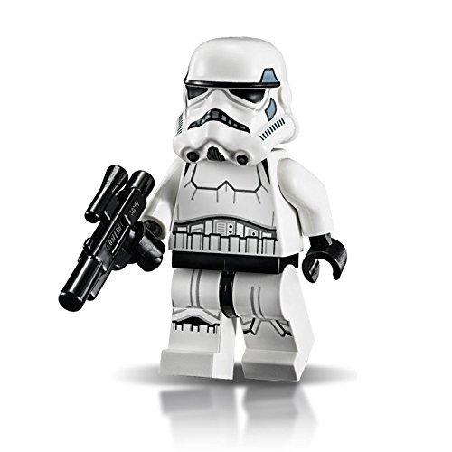 LEGO Star Wars - Minifigura Stormtrooper con piernas impresas