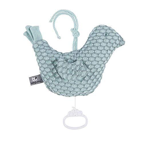 BO Baby's Only - Spieluhr Vogel Sun - Mint/Stonegreen